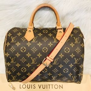 Authentic Louis Vuitton Speedy 30 #1.6y